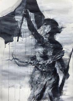 "Saatchi Art Artist Kim Byungkwan; Painting, ""From the bottom of my heart"" #art"