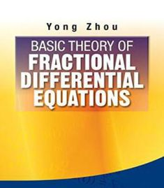 Basic Theory Of Fractional Differential Equations PDF