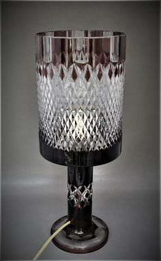 Superb Val Saint Lambert lampe uLinares u PB Catalogue
