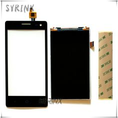 Syrinx + Tape Mobile Phone LCDs Touchscreen Sensor For ZTE Blade GF3 Touch Screen Digitizer Lcd Display Front Glass Panel Lens #Affiliate