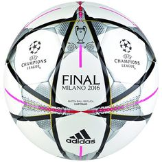 580de38bbb adidas Finale Milano Capitano Ball White Bola De Futebol