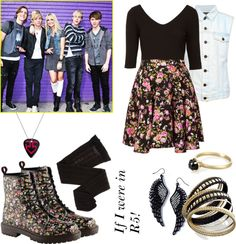 """If I were in R5"" by cjnoles ❤ liked on Polyvore"