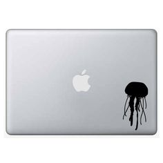 Jellyfish Decal/Sticker - sea jelly, custom, vinyl, outdoor vinyl, car decal, computer decal, permanent, sea life, ocean animal, marine life by WizardatNight on Etsy