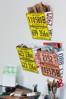 Vintage License plate decor Call today or stop by for a tour of our facility! Indoor Units Available! Ideal for Outdoor gear, Furniture, Antiques, Collectibles, etc. License Plate Crafts, Old License Plates, License Plate Art, Licence Plates, Deco Surf, Diy Xmas, Oragami Christmas, Christmas Christmas, Christmas Crafts