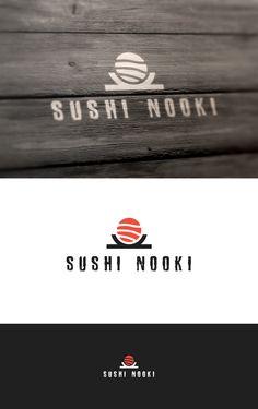 sushi logo - simple logo - creative logo