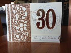 John and Verity's Anniversary card