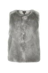 Luxe Faux Fur Boxy Gilet