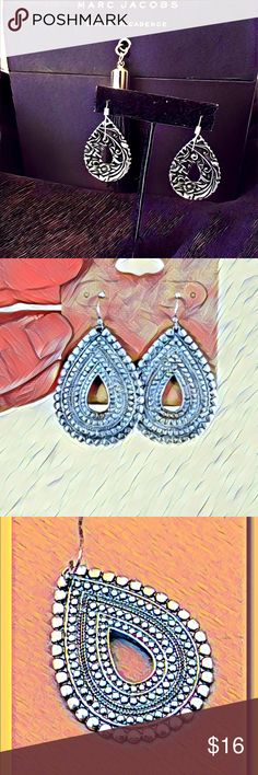 Antique Silver Earrings One Size New With Tags 📦 Metal works Earrings by a company named Lucky 🍀 You. Follow me on Instagram @moniquelenore. One size. Imported. Lead and nickel compliant product. Never worn. New worn never. Rare and unique OwL 🦉 eyed Earrings. Size 1.5 inches. Voice Box Couture Jewelry Earrings