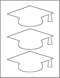 Graduation Cap Clipart, Graduation Cards Handmade, Graduation Templates, Graduation Crafts, Graduation Party Themes, Kindergarten Graduation, Grad Parties, Graduation Invitations, Handmade Cards