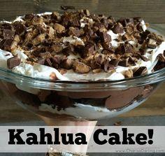The Perfect Summer Dessert: Kahlua Cake   Charisa Darling