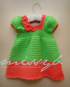 Crochet Girls Shirt Pattern  PDF pattern  Clarabelle Shirt