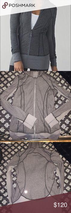 Lululemon herringbone daily practice jacket In EUC. Size 8 lululemon athletica Jackets & Coats