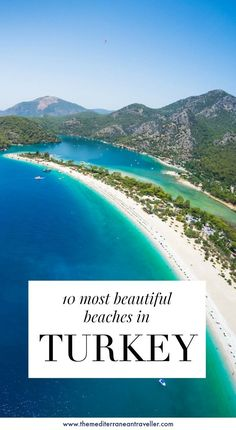 This beautiful country is a mind-blowing destination for beach-lovers. But which are the top 10 best beaches in Turkey you should make a beeline for on your travels? Here are 10 stunning sandy beaches and secret coves for your bucket-and-spade-list. Holiday Destinations, Vacation Destinations, Vacation Spots, Cool Places To Visit, Places To Travel, Places To Go, Capadocia, Visit Turkey, Countries To Visit