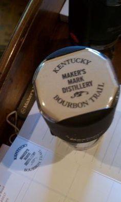Maker's Mark ~ Kentucky Bourbon Trail passport stamper