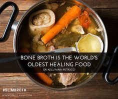 When you eat #bonebroth, you're really eating cooked #collagen. This is a…