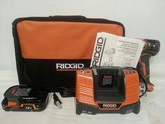 Ridgid X4 18-Volt 1/4 in. Cordless Impact Driver Kit Model R86034K #RIDGID