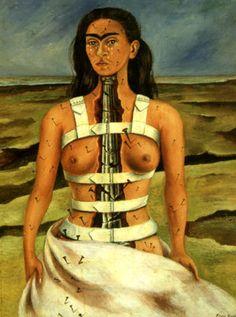 La columna rota Frida Kalho
