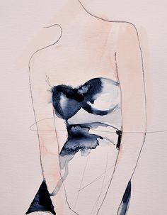 "CREATE: ""Figure 4"" Fashion Illustration by Leigh Viner"