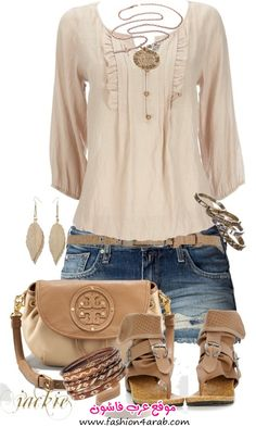 453e78d4130ee A fashion look from June 2012 featuring chambray blouse