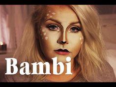 HALLOWEEN: Bambi make up tutorial