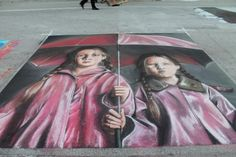 Annual Street Painting Festival in downtown Lake Worth Beach, Florida. Street Painting, Street Art, Painting, Art