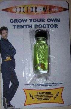 Grow my own 10 th doctor? Yes please!