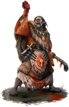 DSA Tairach-Priest / Ork-Schaman