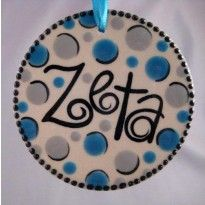 Zeta Tau Alpha Ornament