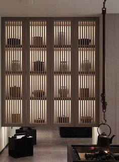 The Best 2019 Interior Design Trends - Interior Design Ideas Japan Interior, Modern Interior, Interior Design, Zen Interiors, Office Interiors, Shelf Design, Cabinet Design, Japan Design, Chinese Tea Room