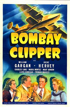 Bombay Clipper (1942) - US One Sheet