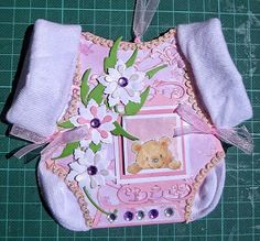 Baby Dress Card tutorial