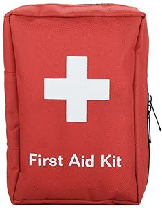 Emergency First Aid Kit Survival  88 pieces Medical Kit Travel Emergency Kit Hiking First Aid Kit Emergency Survival Go Bag Size Medium by SadoMedCare *** For more information, visit image link. (This is an affiliate link) #CarEmergencyKit