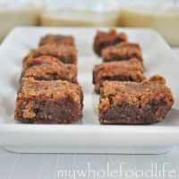 Okay, these are not blondies. They are very yummy cookie bars that everyone enjoyed. But, I am still looking for a healthy blondie. Feel free to send me a Pin if you find one. But, I will definitely make these again because they are easy and a crowd pleaser.