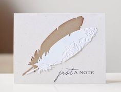 Feather Die at My Scrapbooking Place for about $19