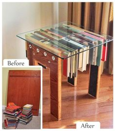 upcycled furniture | Side Table from John Combs Upcycle featured at our Philadelphia Home #diy #inspiration