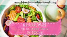 Find out the natural ways to cleanse the body of toxins and boost the immune system. Natural Body Detox, Cleanse Your Body, Immune System, Health And Wellness, Nature, Profile, Foods, User Profile, Food Food