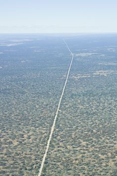 Nullabor Plain, Australia. Make sure you are prepared for this drive. If you break down, it's a long way from help....