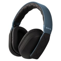 Soul Jet headphones. Wifey has turned me into a headphone snob.