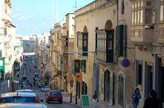 Lower Republic Street, Valletta, Malta.