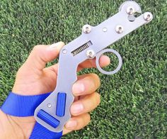 Shoot farther and more accurate than ever before by using this trigger release slingshot. This modern take . Pocket Slingshot, Wooden Slingshot, Polaris Slingshot, Homemade Crossbow, Homemade Weapons, Surfboard Fins, Paper Balls, Guns And Ammo, Sales And Marketing