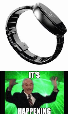 The Internet Daily - It's time! #androidwearable #moto360 #smartwatch