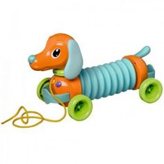 TOMY Marley the Musical Dog - pull toy and accordion Pull-along musical dog plays real instrument sounds! Encourages self-play and musical exploration. Tomy Toys, Accordion Music, Toy Musical Instruments, Pull Along Toys, Activity Toys, Activities, Developmental Toys, Pull Toy, Thomas And Friends