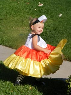 Toddler Candy Corn Halloween Costume by wishestostitches on Etsy, $50.00