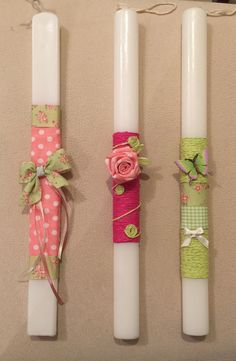 Easter Candle, Paper Quilling Flowers, Diy Candles, Light Decorations, Candle Sconces, Handicraft, Diy And Crafts, Wall Lights, Handmade