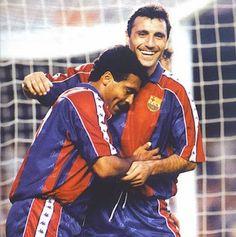 Romário & Stoichkov