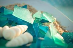 Edible Sea Glass Recipe - Perfect for decorating a Percy Jackson cake or just having as candy.