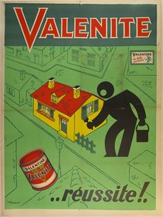 Description: Valentine for beautiful paints . Vintage Advertising Posters, Vintage Advertisements, Vintage Posters, American Gothic Painting, Pub Vintage, Museums In Nyc, Retro Ads, Old Ads, Posters