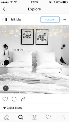 Over the bed pics