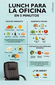 Hábitos Health Coaching | LUNCH PARA LA OFICINA EN 5 MINUTOS