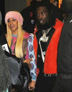 Welcome to Oghenemaga Otewu's Blog: Photos: Cardi B and boyfriend Offset photographed ...